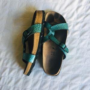 Birkenstock/Birki's Leather Sandals Size 7.5